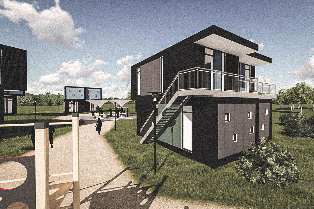 Billede af Dansk arkitekttegnet 2 plan villa af arkitektfirmaet m2plus, i Lübeck på 0 kvartratmeter.