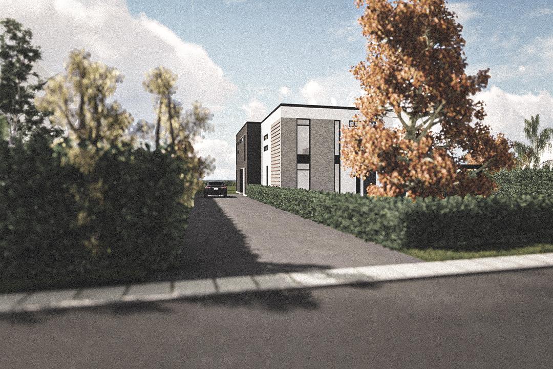 Billede af Dansk arkitekttegnet 2 plan villa af arkitektfirmaet m2plus, i Hvidore på 383 kvartratmeter.
