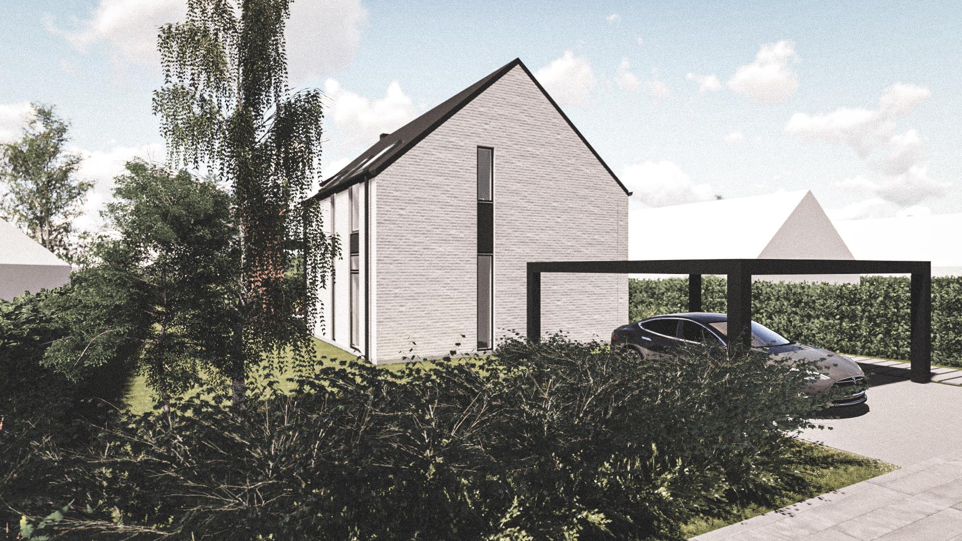 Billede af Dansk arkitekttegnet 2 plan villa af arkitektfirmaet m2plus, i Kastrup på 173 kvartratmeter.