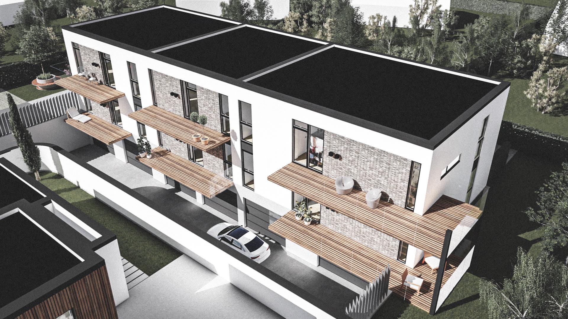 Billede af Dansk arkitekttegnet 3 plan villa af arkitektfirmaet m2plus, i Kastrup på 862 kvartratmeter.