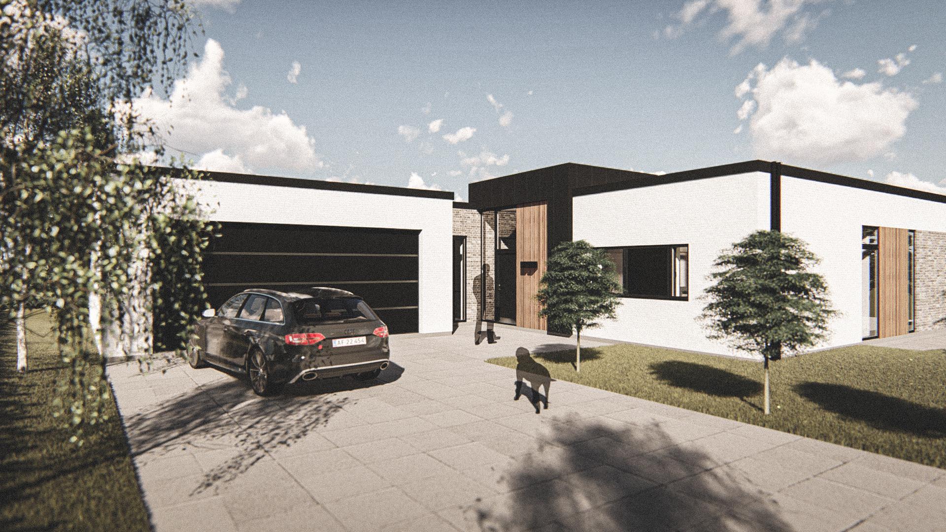 Billede af Dansk arkitekttegnet 1 plan villa af arkitektfirmaet m2plus, i Aarup på 0 kvartratmeter.