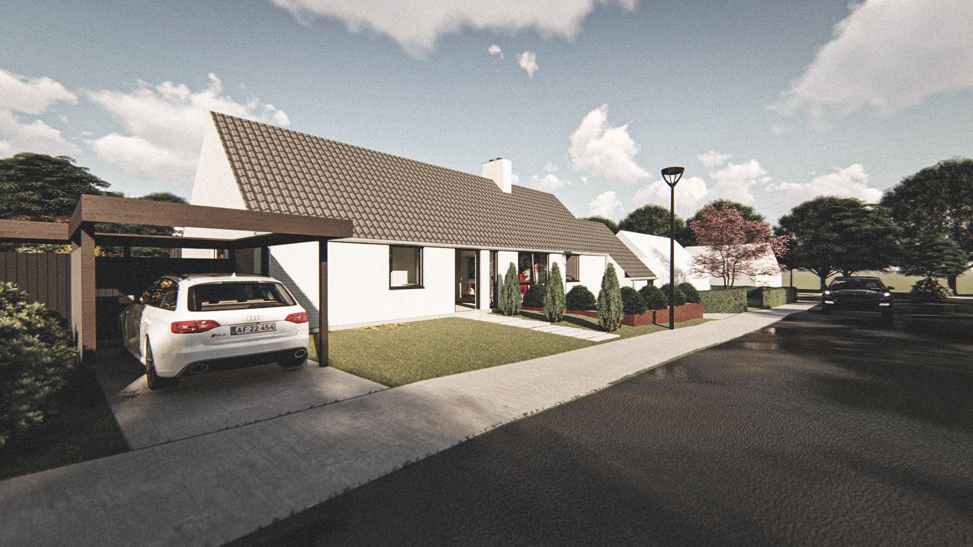Billede af Dansk arkitekttegnet 1 plan villa af arkitektfirmaet m2plus, i Roskilde på 0 kvartratmeter.