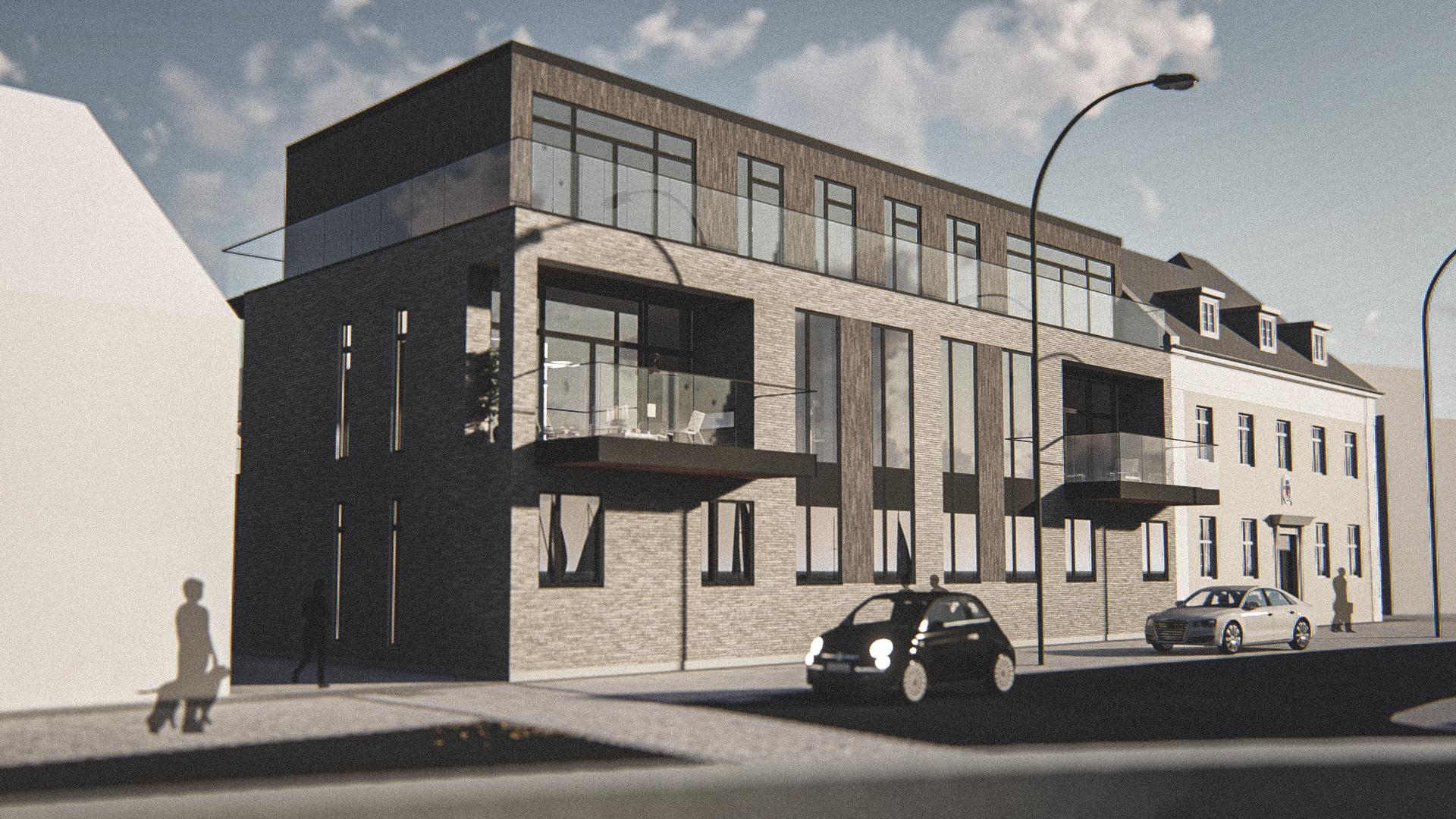 Billede af Dansk arkitekttegnet 3 plan villa af arkitektfirmaet m2plus, i Lemvig på 781 kvartratmeter.