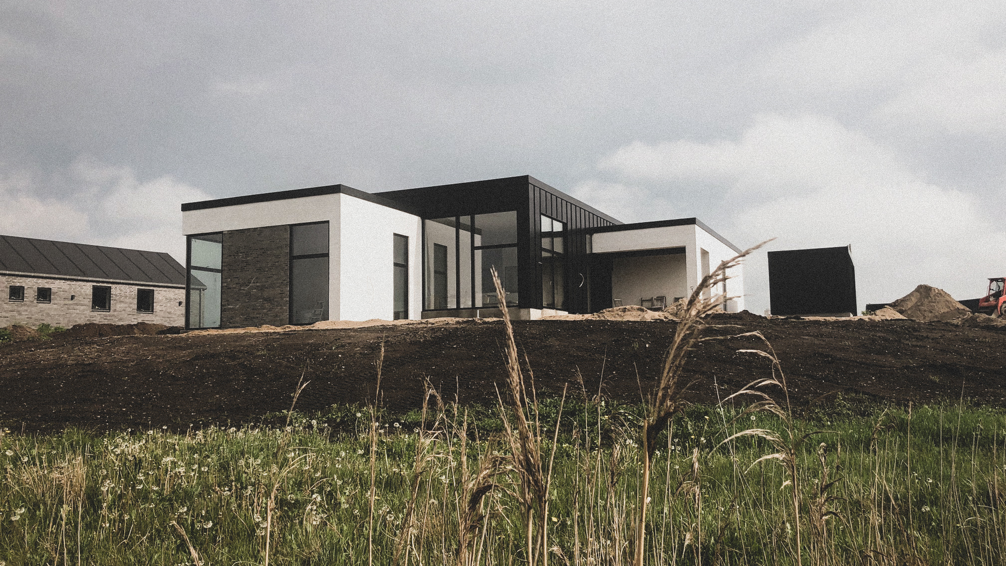 Billede af Dansk arkitekttegnet 1 plans villa af arkitektfirmaet m2plus.