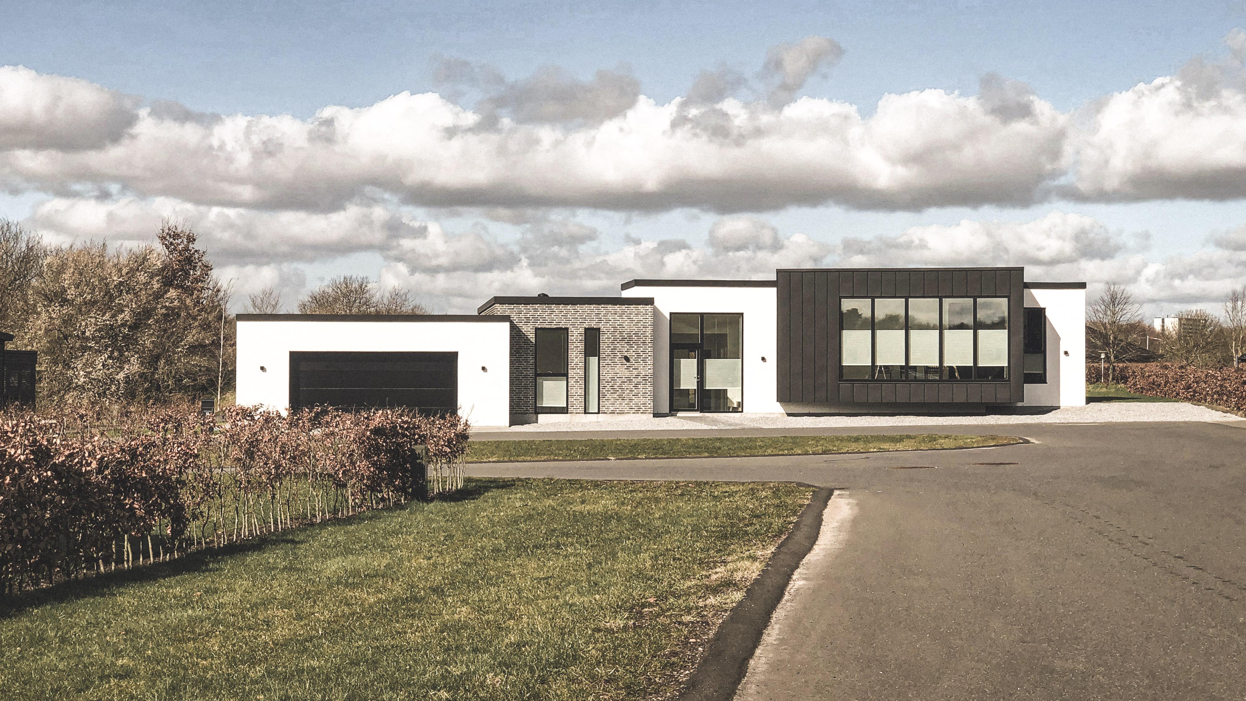 Billede af Dansk arkitekttegnet partereplans villa af arkitektfirmaet m2plus.