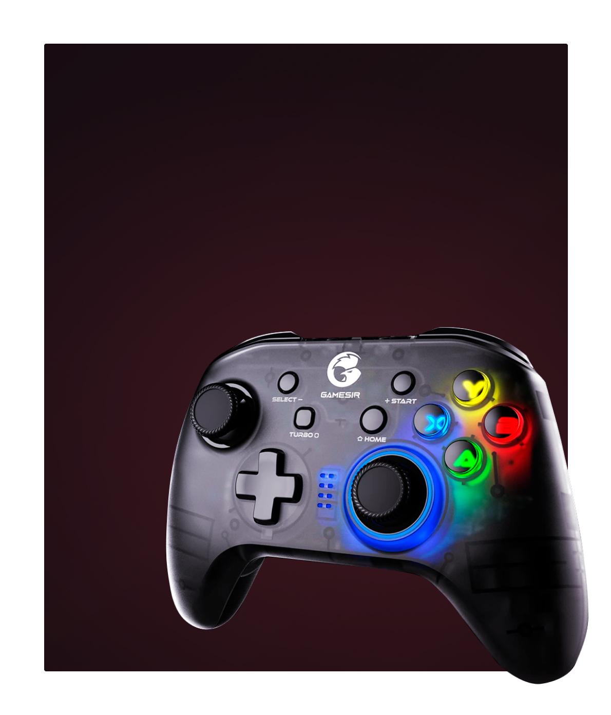 Сайт игровой периферии GameSir