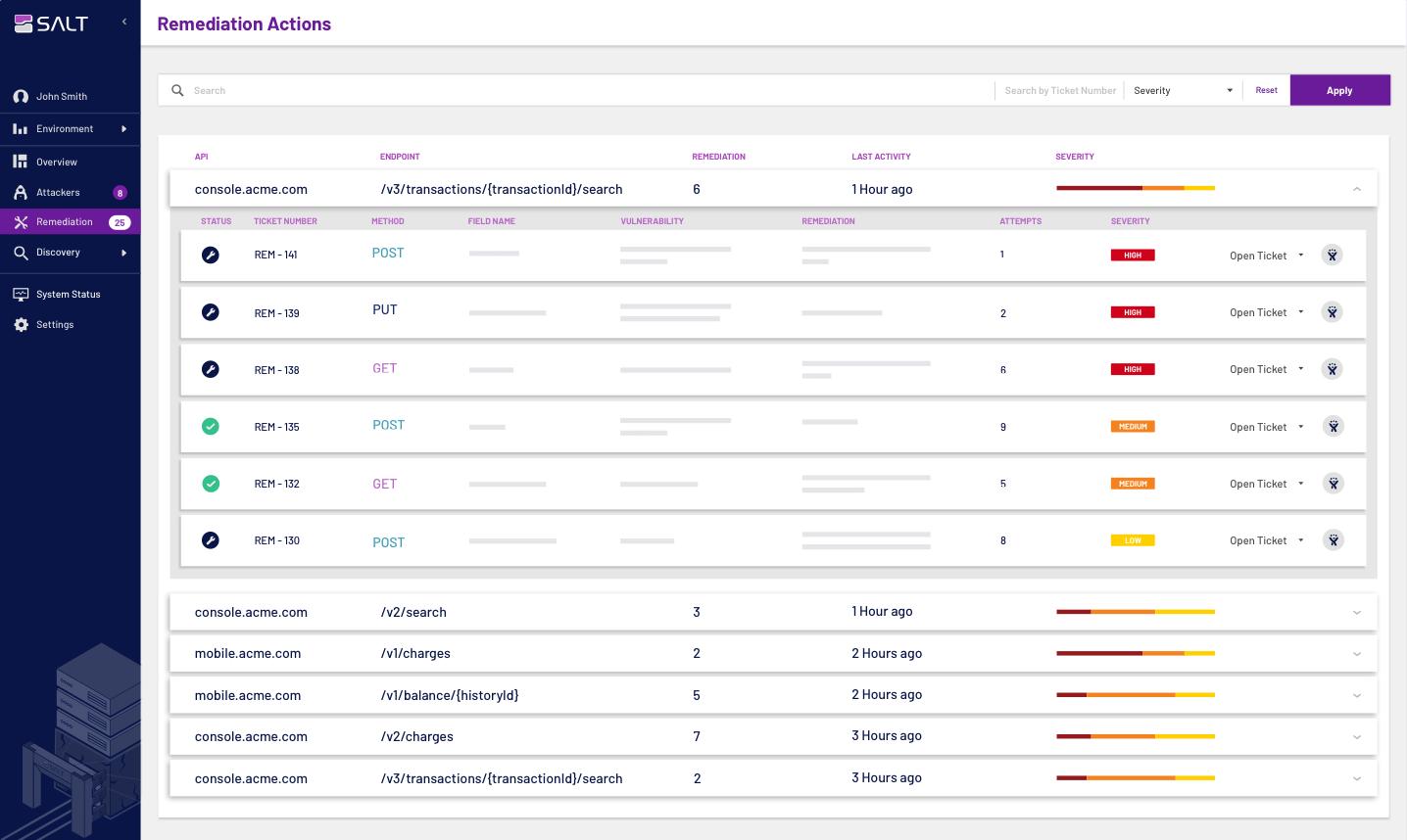 Improve API security posture