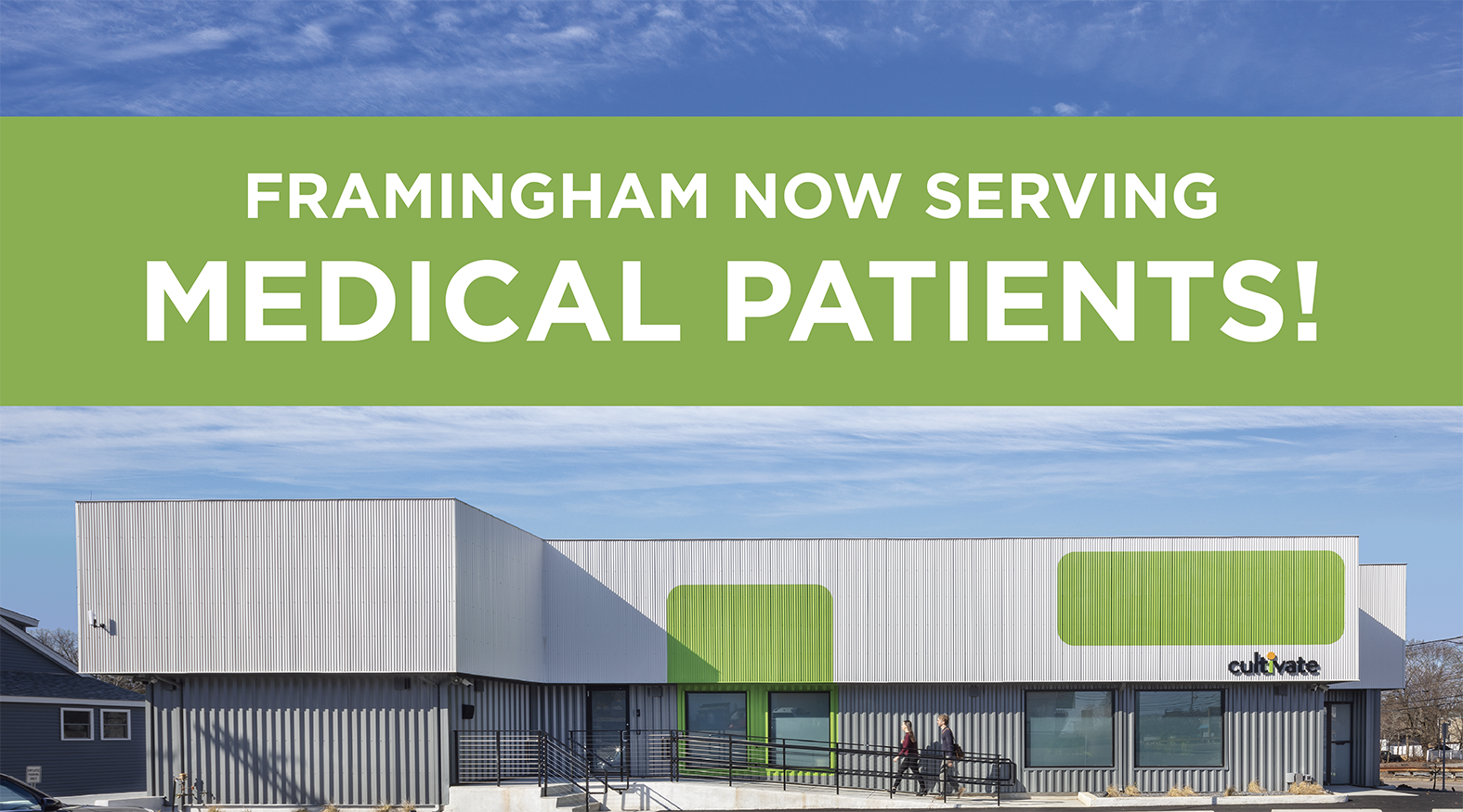 Framingham Now Serving Medical Patients!