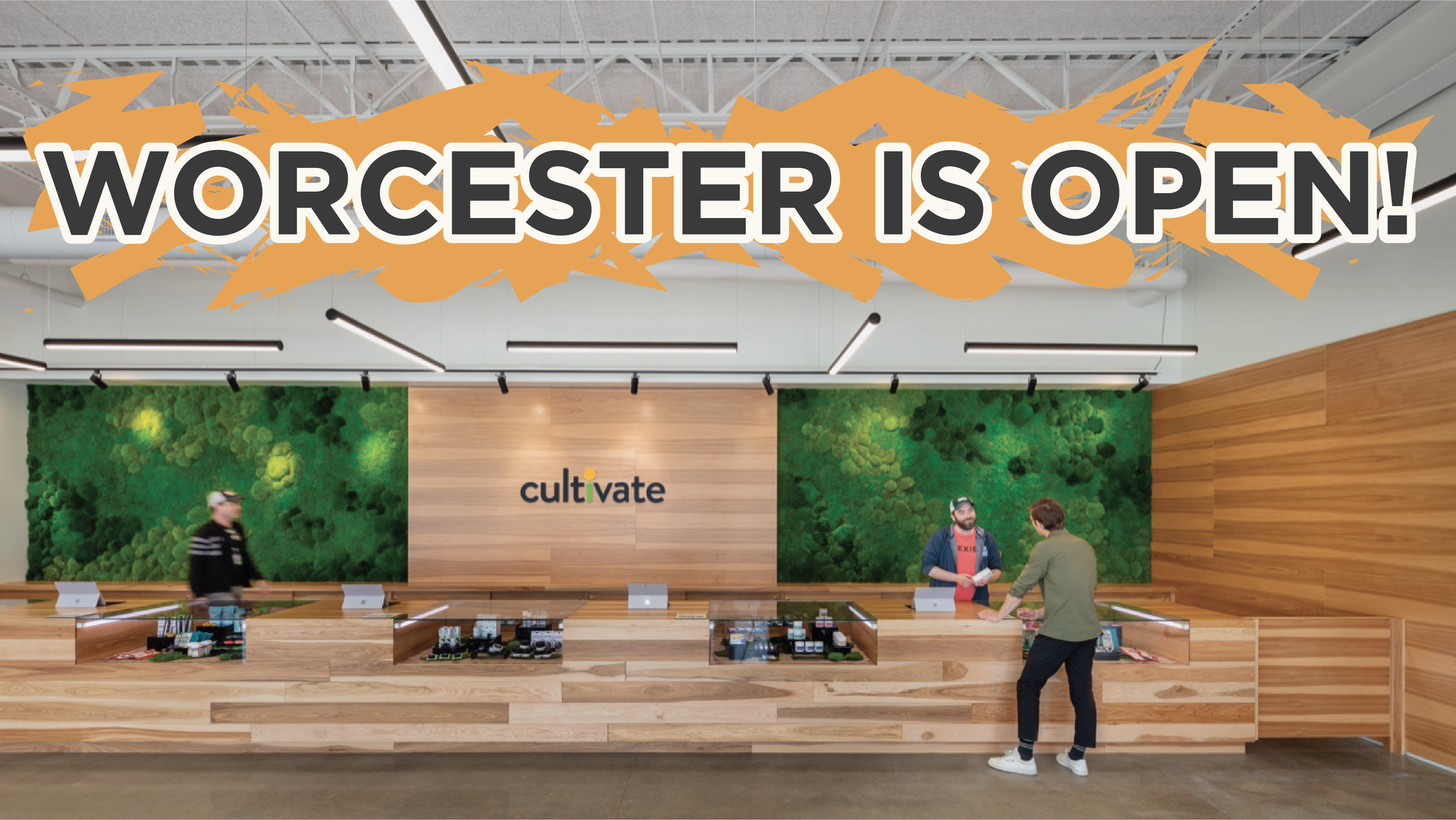 Worcester is Open