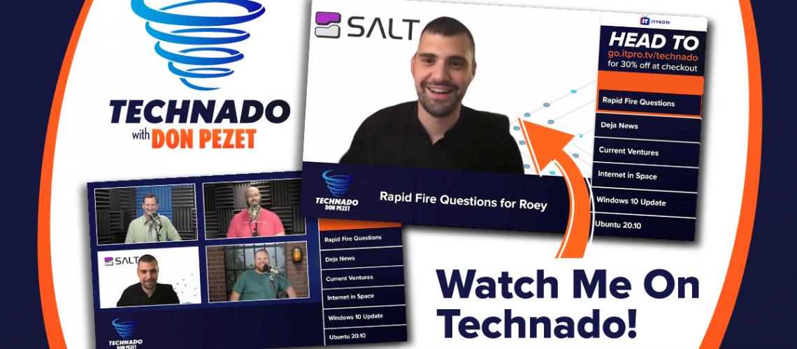 ITProTV Technado Podcast With Roey Eliyahu