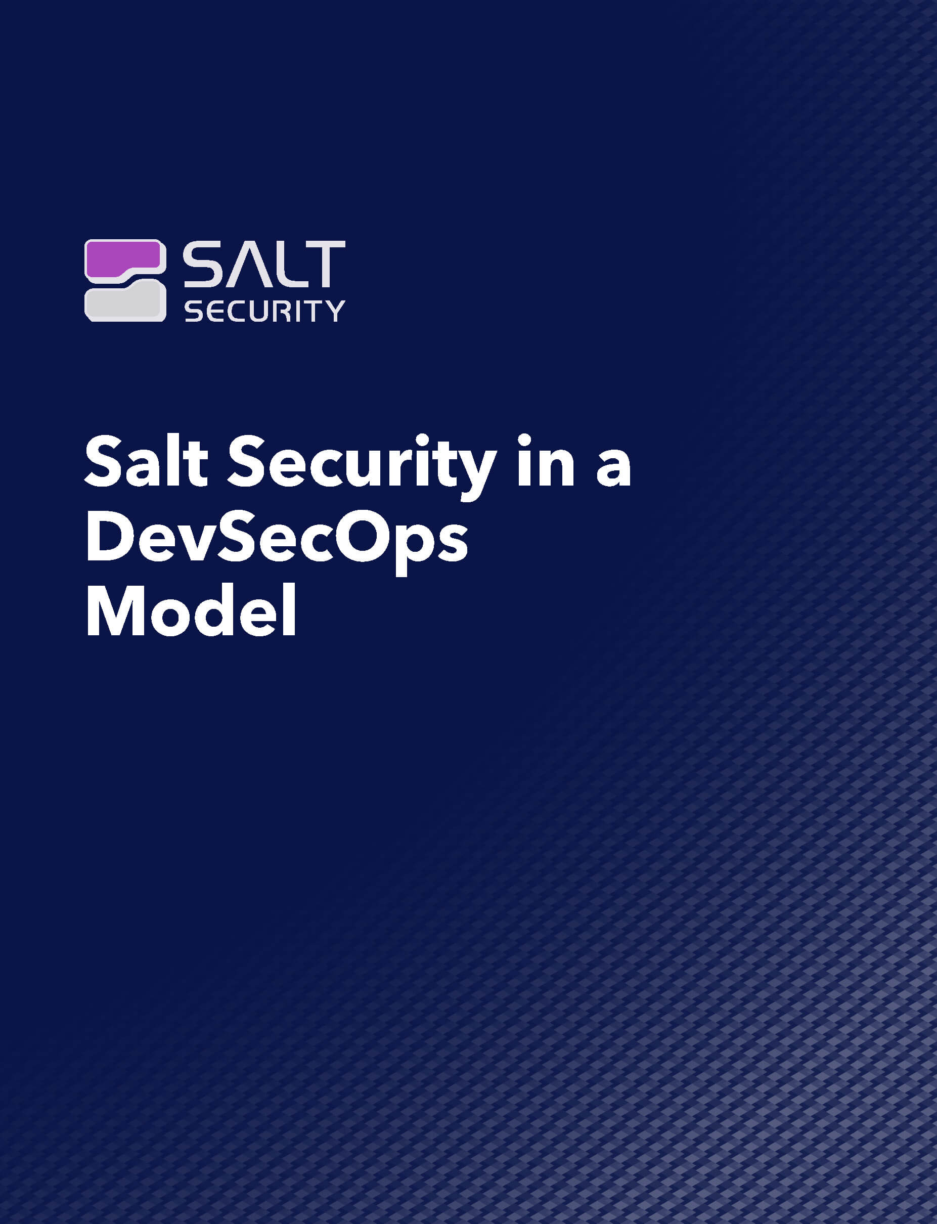 Salt Security In A DevSecOps Model