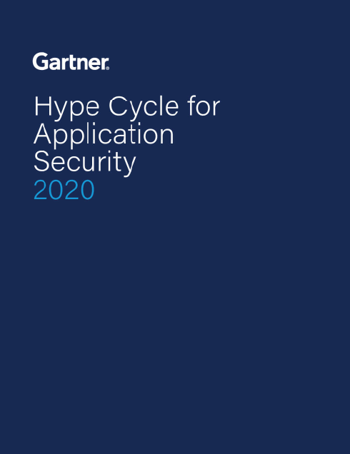 Gartner Hype Cycle for Application Security 2020