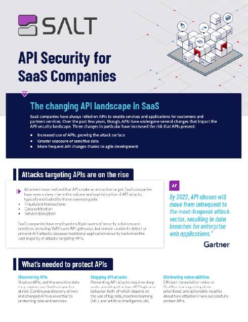 Tech SaaS Solution Brief
