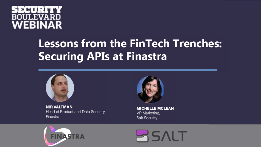 Lessons from the FinTech Trenches: Securing APIs at Finastra