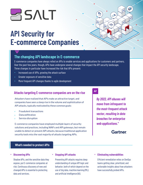 API Security for E-Commerce Overview