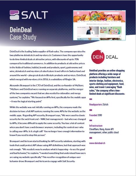 DeinDeal Case Study
