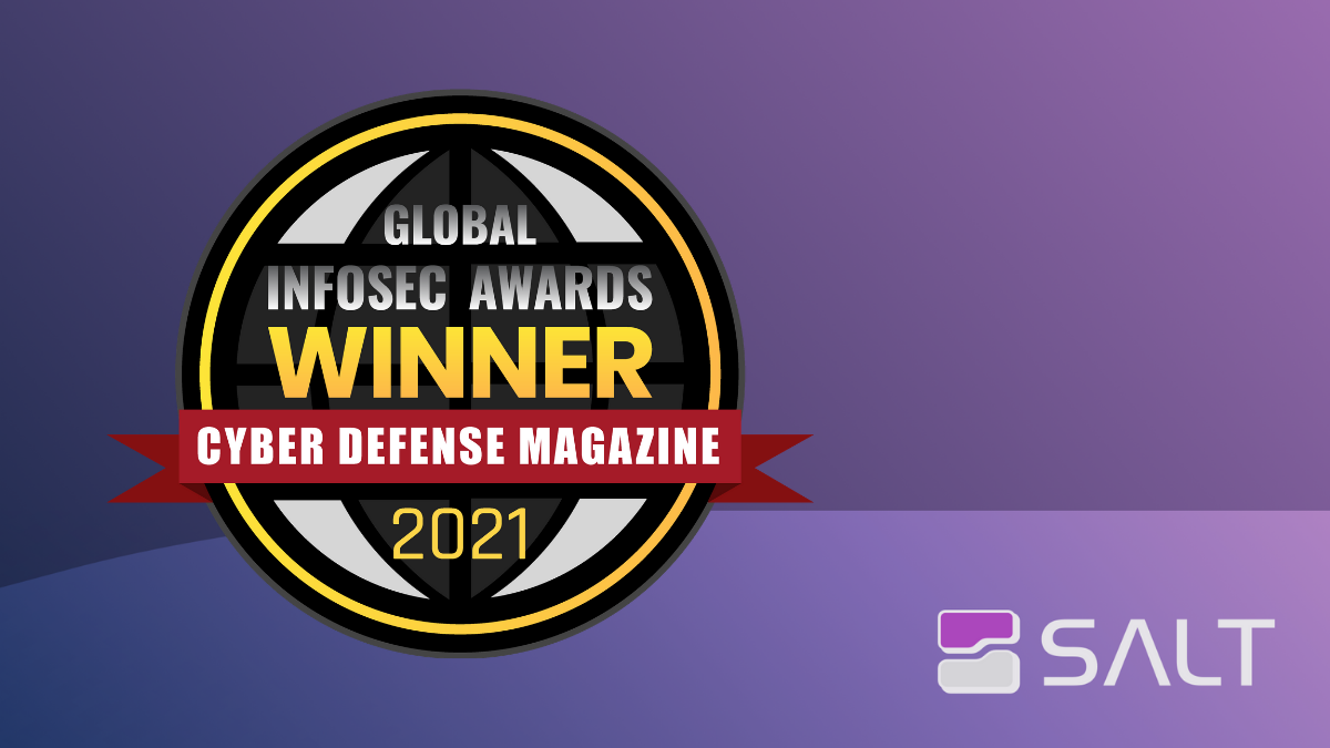 And the Award Goes to …. Salt Security! (Again!)