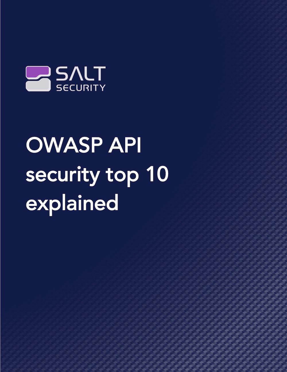 OWASP API Security Top 10 Explained