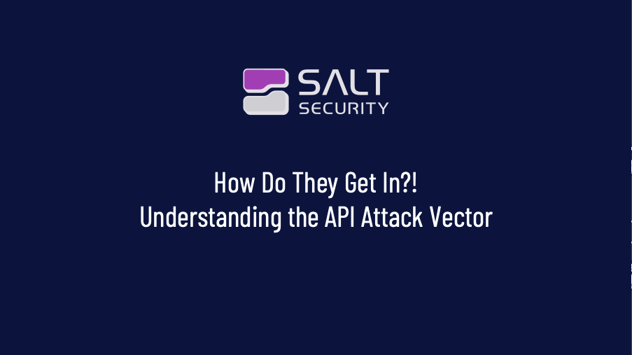 How Do They Get In?! Understanding the API Attack Vector