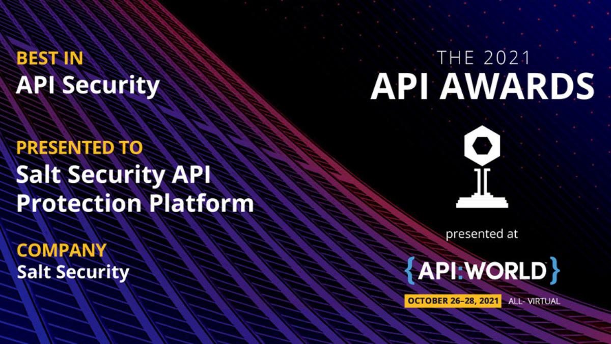 """Best in API Security"" – 'Nuff Said"