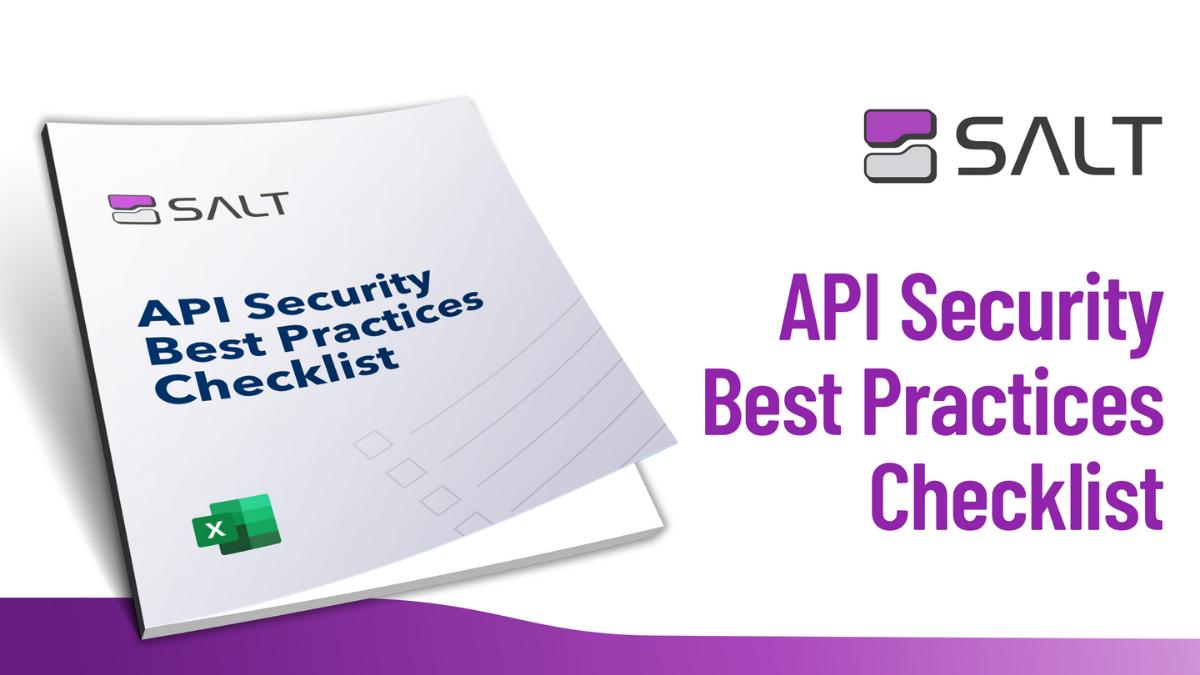 API Security Checklist
