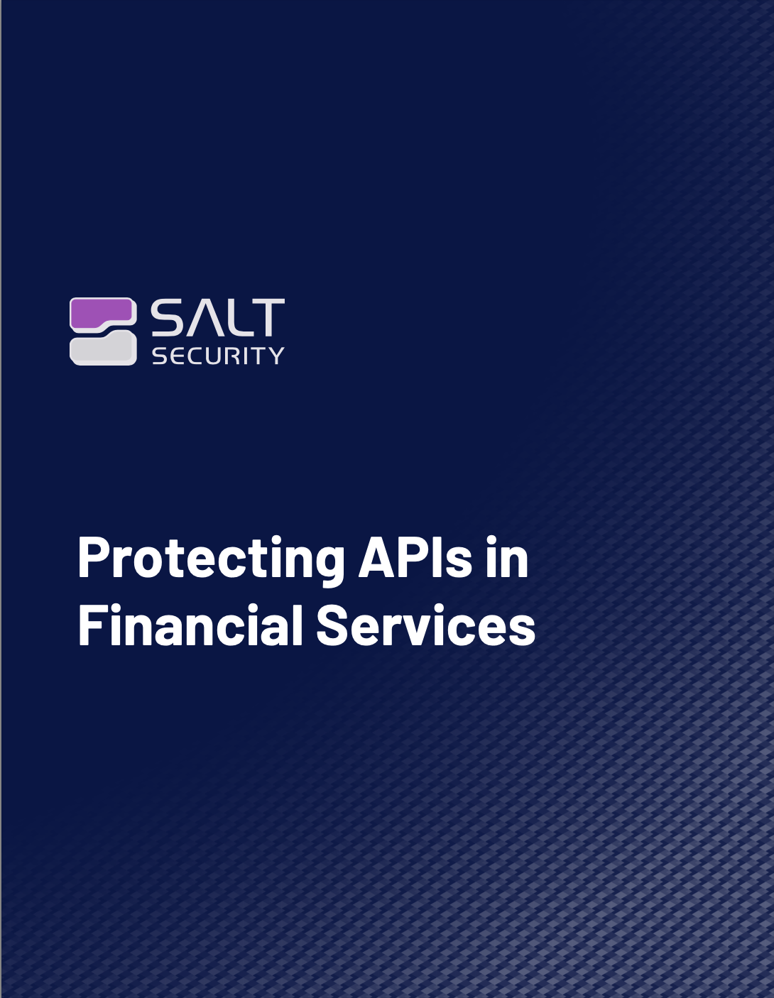 Protecting APIs in Financial Services