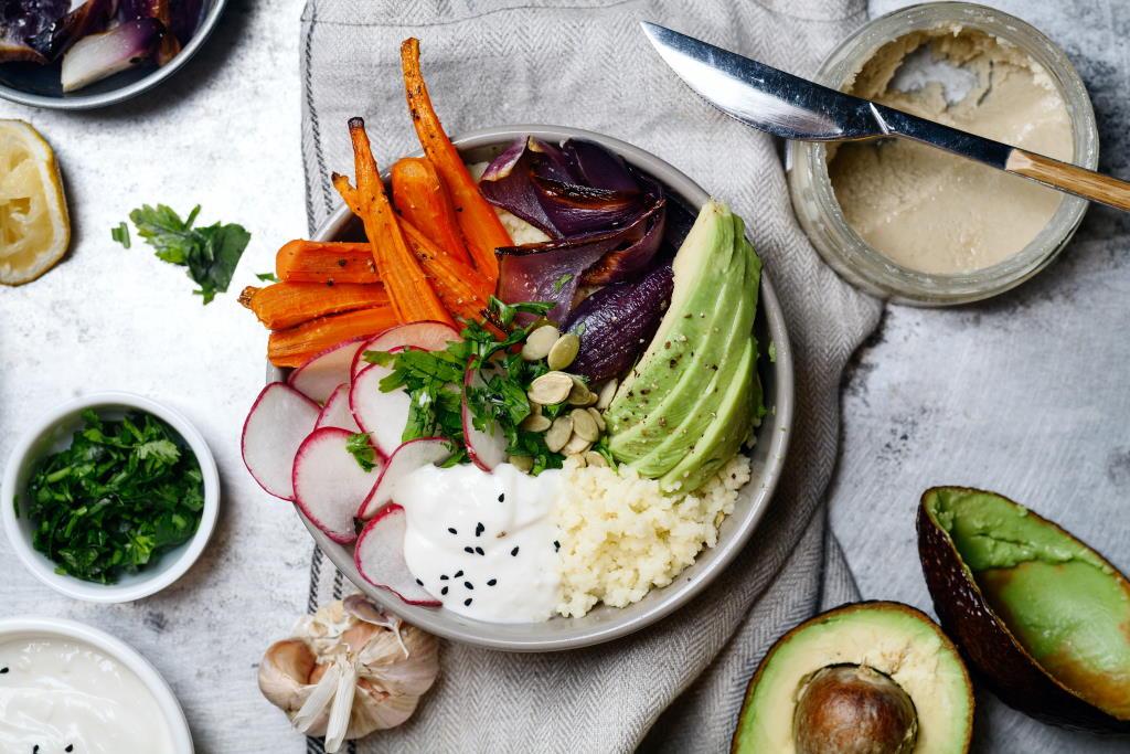 Clean Eating vegan Buddha Bowl