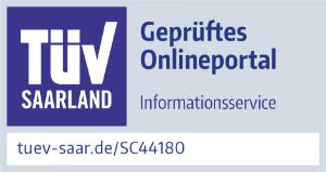 TÜV: Geprüftes Onlineportal