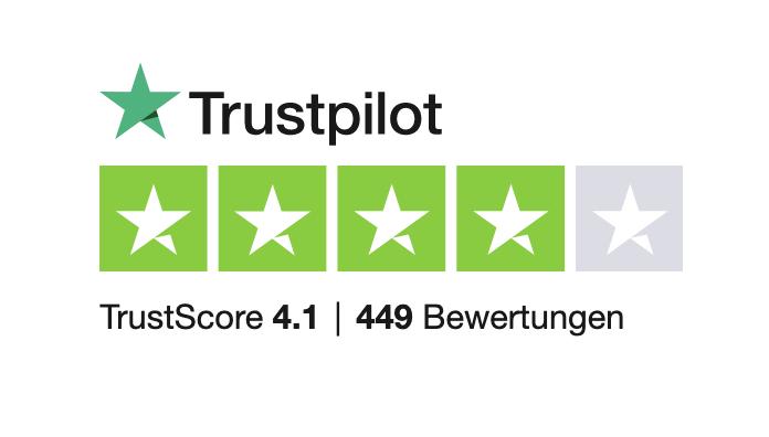 Trustpilot Bewertung: Gut