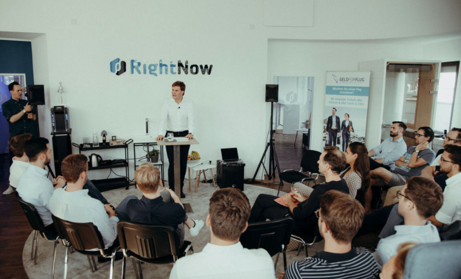 Event at RightNow with Carsten Maschmeyer