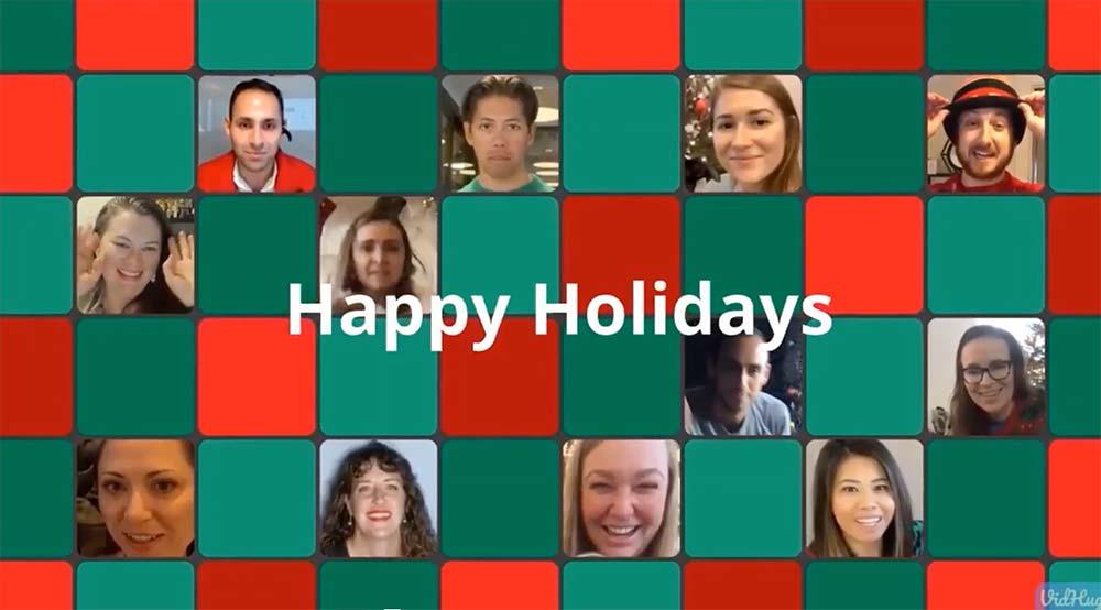 Screenshot of Holiday Vidhug video