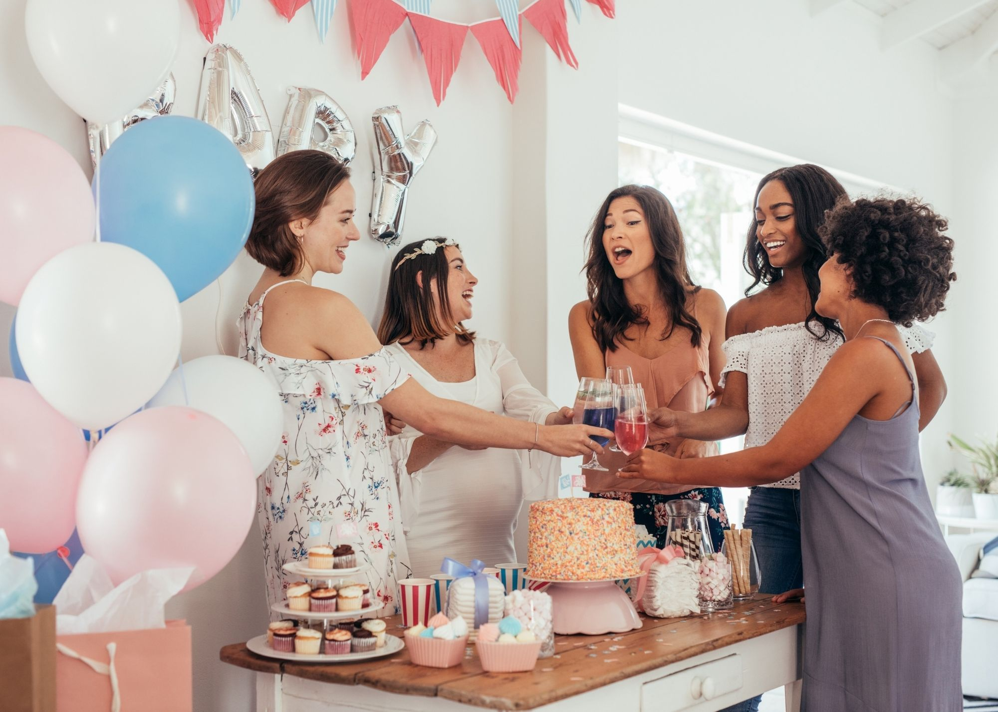 Virtual Baby Showers and Gender Reveals