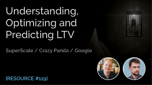 Understanding, Optimizing and Predicting LTV in Mobile Gaming