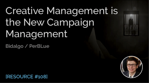 Creative Management Is the New Campaign Management