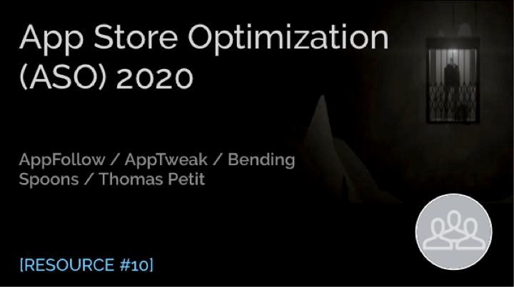 App Store Optimization (ASO) 2020