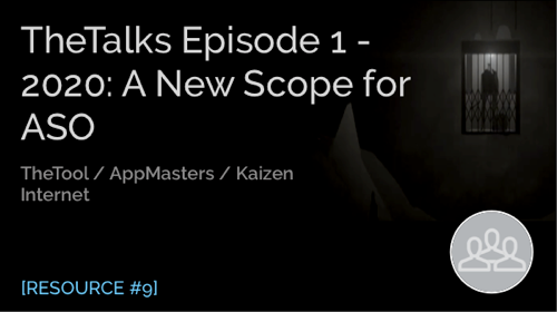 TheTalks Episode 1 - 2020: A New Scope for Aso