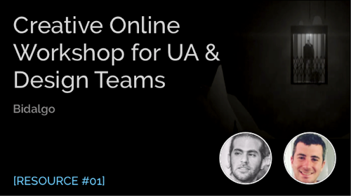 Creative Online Workshop for UA & Design Teams
