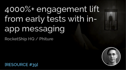 4000%+ Engagement Lift from In-App Messaging