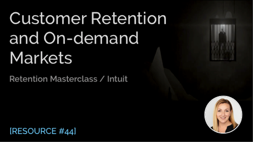 Customer Retention and On-demand Markets