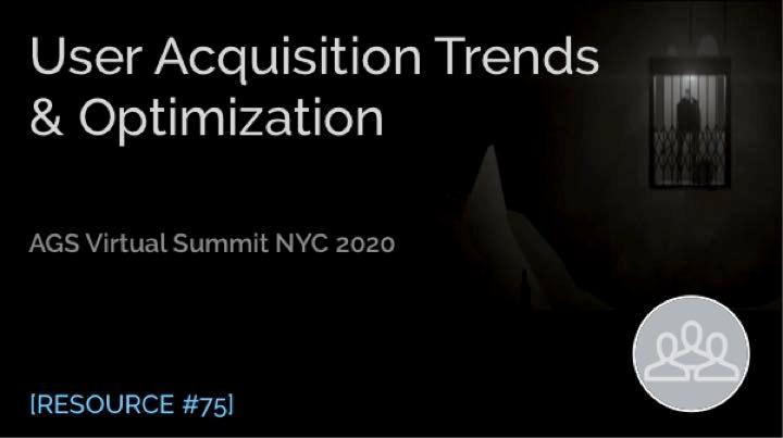 User Acquisition Trends & Optimization