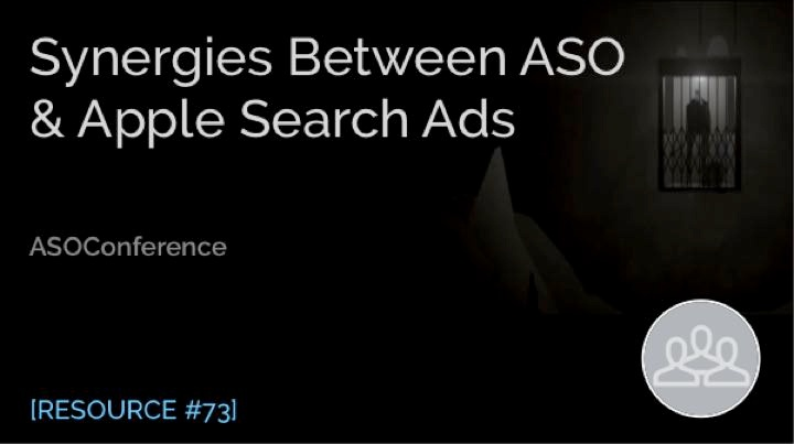 Panel: Synergies between ASO & Apple Search Ads