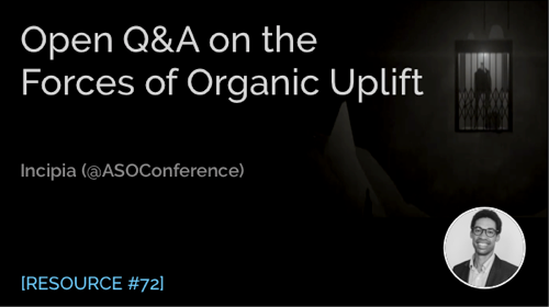 Open Q&A on the Forces of Organic Uplift