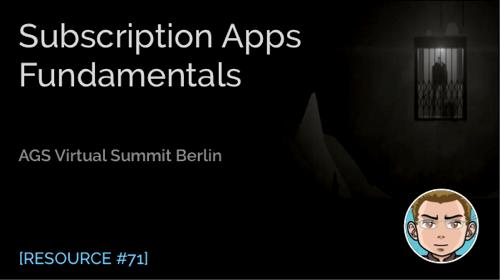 Subscription Apps Fundamentals
