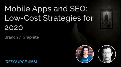 Mobile Apps and SEO: Low-Cost Strategies for 2020