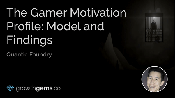 The Gamer Motivation Profile: Model and Findings