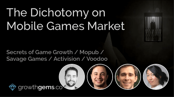 The Dichotomy on Mobile Games Market