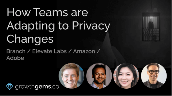 How Teams are Adapting to Privacy Changes