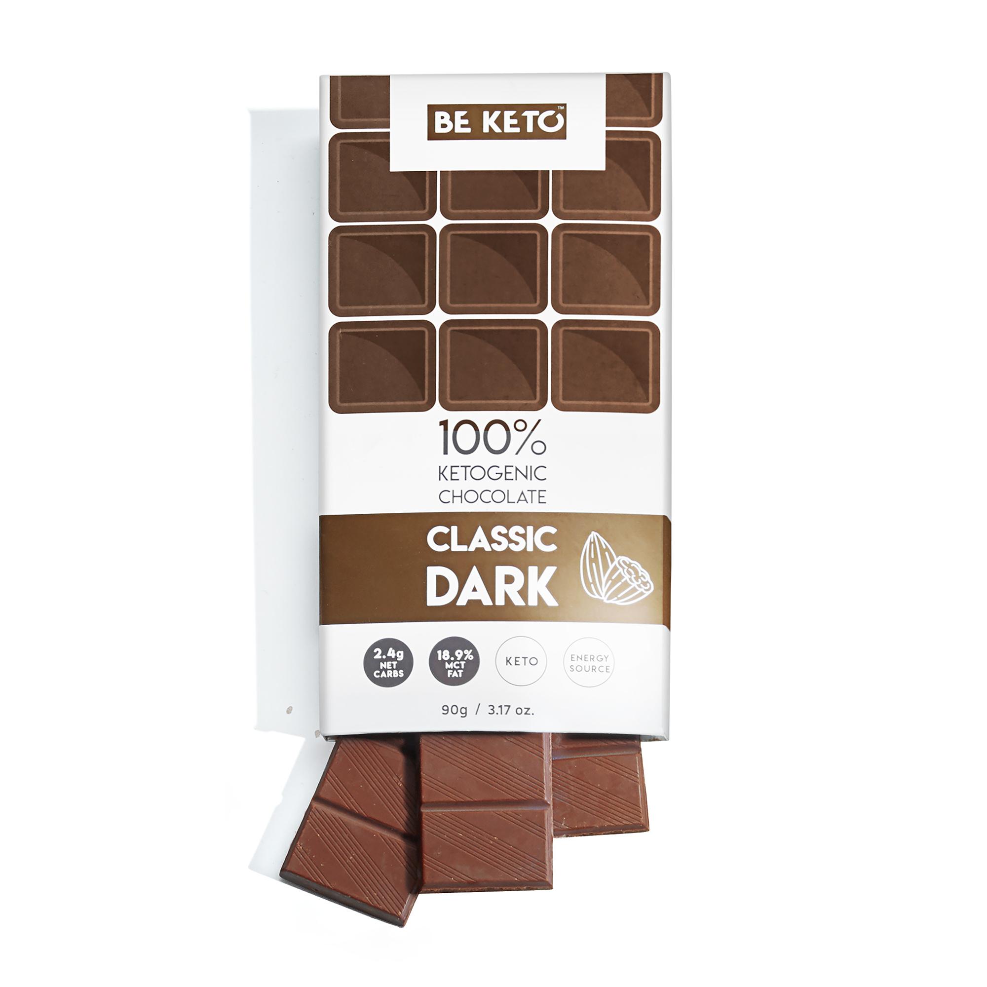 Keto Chocolate + MCT Oil - Classic Dark