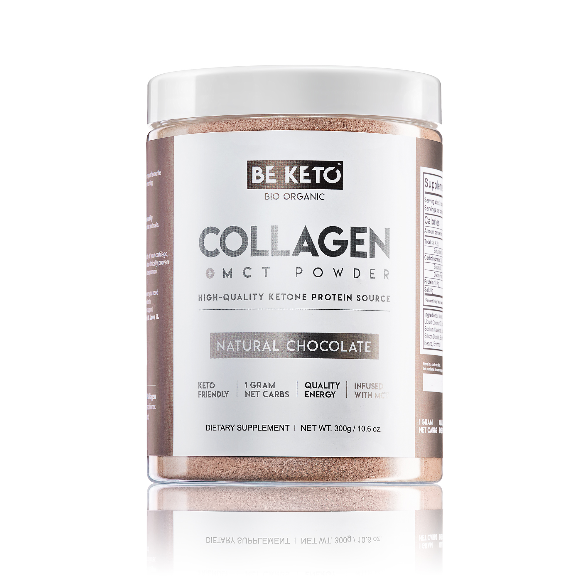 Keto Collagen + MCT Oil - Natural Chocolate
