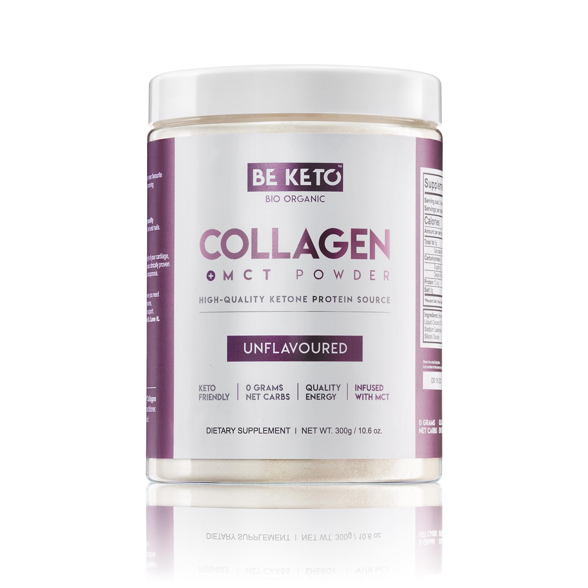 Keto Collagen + MCT Oil - Unflavoured